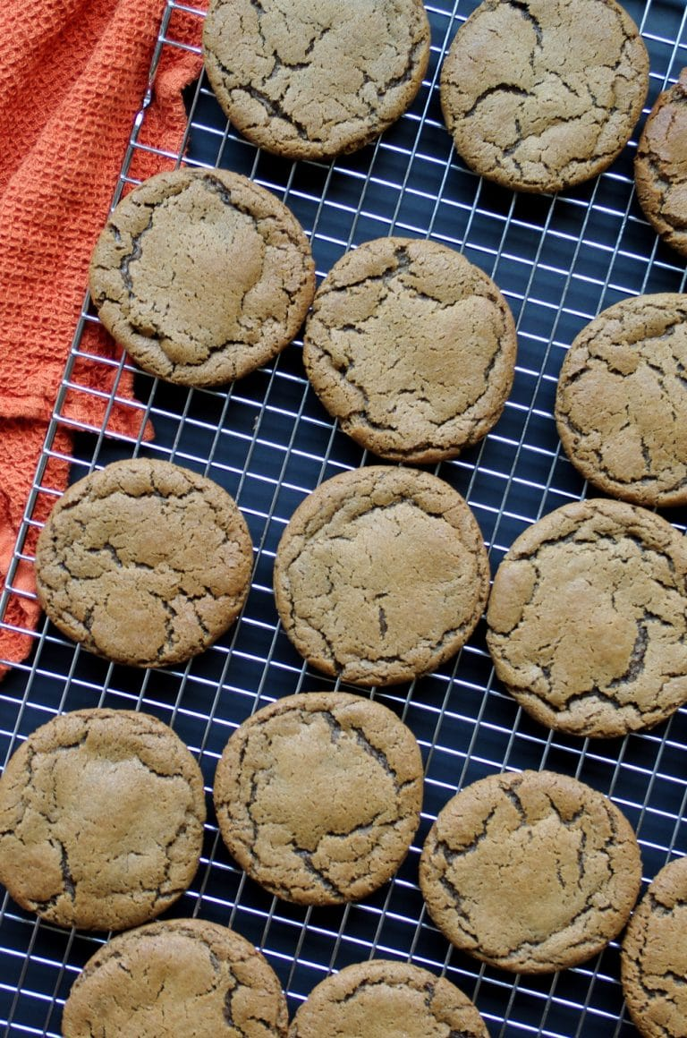 multiple Ginger Molasses Cookies