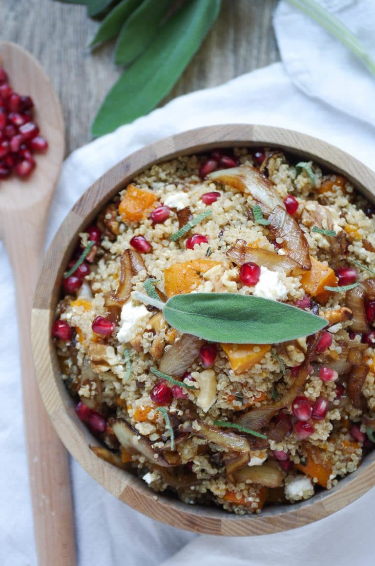 Overhead image of Quinoa Salad