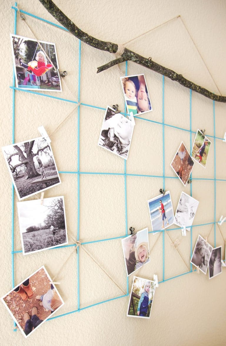 Image result for photo display diy