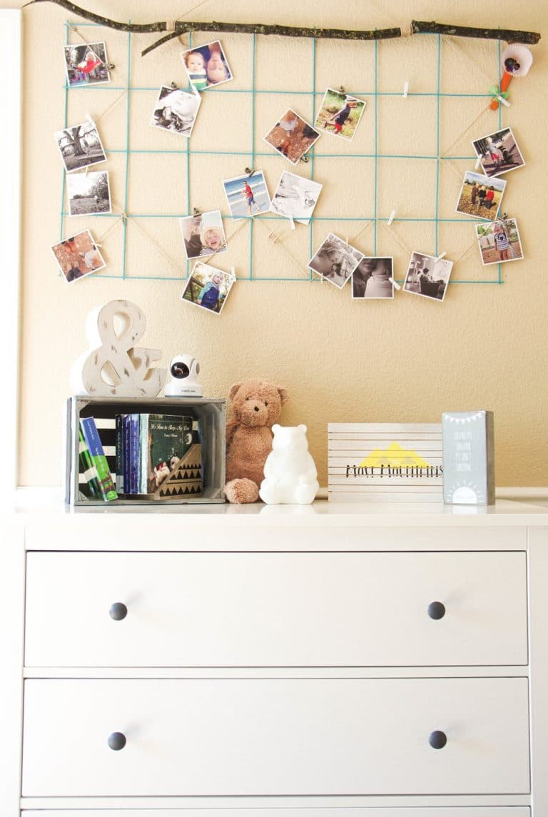 Images over dresser