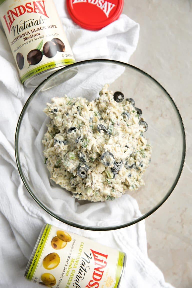 Olive Tapenade in bowl