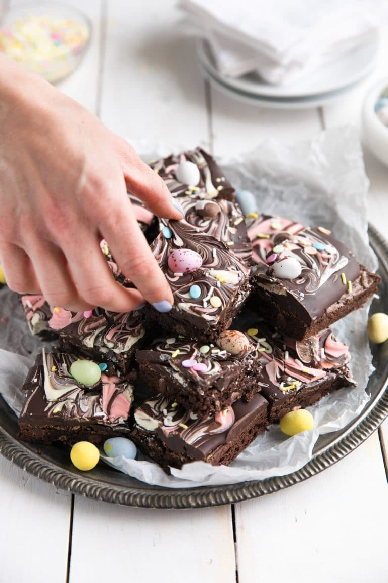 Chocolate Bark Brownies